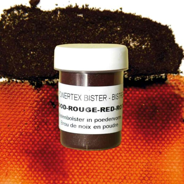 0281-Bister-Powder-Red-40ml-with-Colour-Swatch-Powertex-Australia