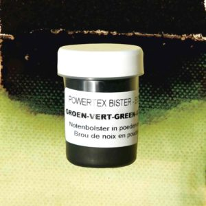 0282-Bister-Powder-Green-40ml-with-Colour-Swatch-Powertex-Australia
