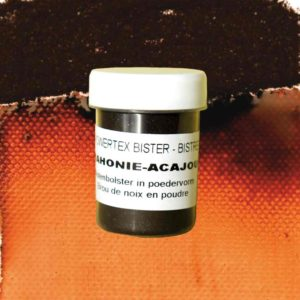 0284-Bister-Powder-Mahogany-40ml-with-Colour-Swatch-Powertex-Australia