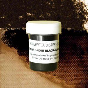0285-Bister-Powder-Black-40ml-with-Colour-Swatch-Powertex-Australia