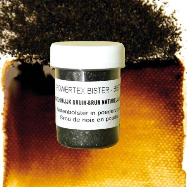 0286-Bister-Powder-Natural-Brown-40ml-with-Colour-Swatch-Powertex-Australia