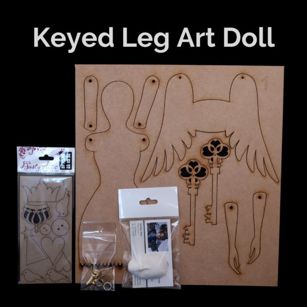 K-014-Keyed-Leg-Art-Doll-kit-Powertex-Australia-1