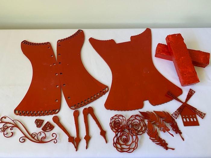 Moulin Rouge Corset