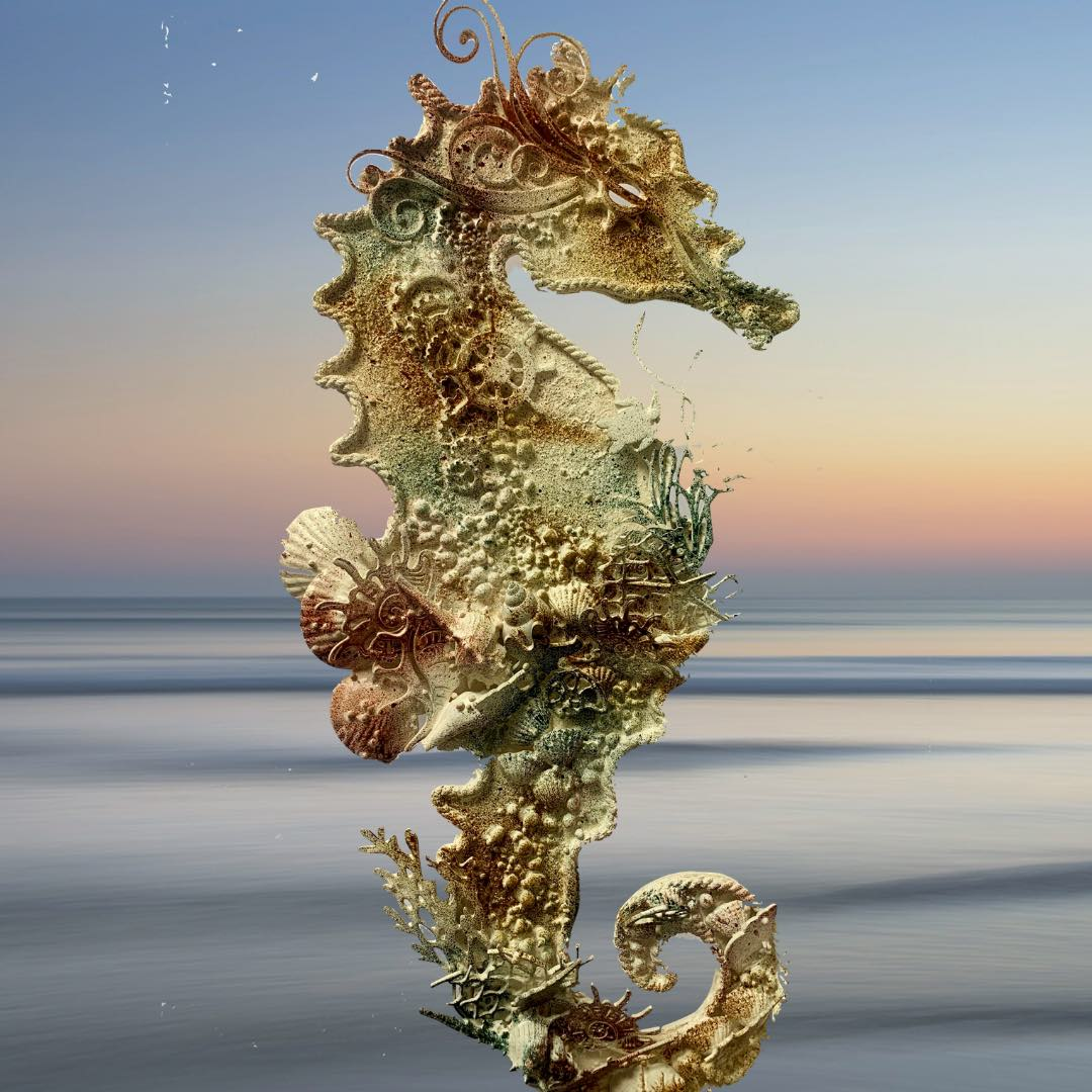 Seaside September Seahorse