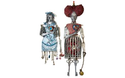 Quirky Art Dolls