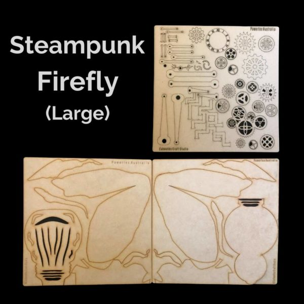 Large Steampunk Firefly