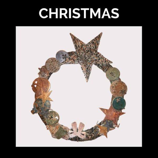 Christmas Wreath Kit - Powertex-Australia-Artwork by Chamaine Webb