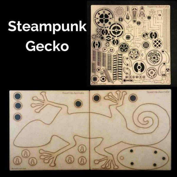 K-027-Steampunk-Gecko-DIY-Art-kit-Powertex-Australia