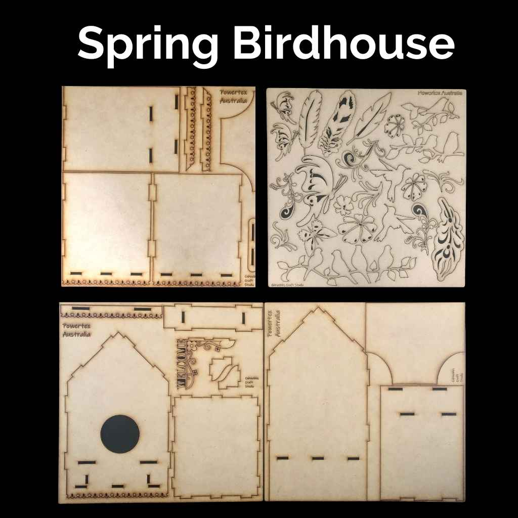 K-028-Spring-Birdhouse-DIY-Art-kit-Powertex-Australia