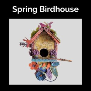 Spring-Birdhouse-DIY-Tutorials-Powertex-Australia-artwork-by-Charmaine-Webb