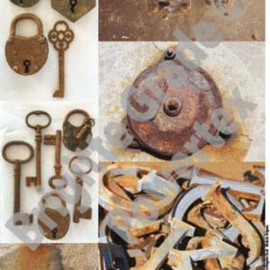 A3 Art Print of Rust to use for photo transfers or collage - Powertex Australia