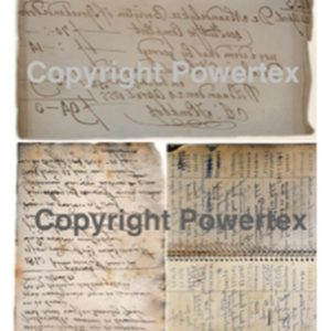"A3 Art Print ""Grandmas Phone Book"" to use for photo transfers or collage, Powertex Australia"