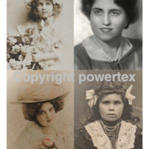 "A3 Art Print ""Memories"" to use for photo transfers or collage, Powertex Australia"