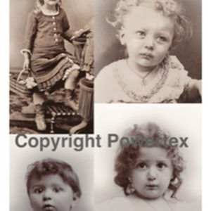 "A3 Art Print of ""Kids"" to use for photo transfers or collage, Powertex Australia"