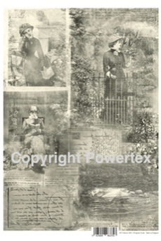 "A3 Art Print ""March 1883"" to use for photo transfers or collage, Powertex Australia"