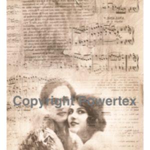 "A3 Art Print ""Le Baiser"" to use for photo transfers or collage, Powertex Australia"
