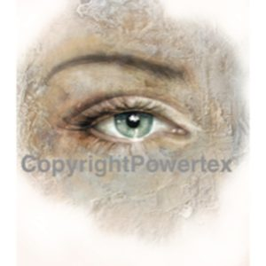 "A4 Art Print ""The Eye of Hope "" to use for photo transfers or collage, Powertex Australia"