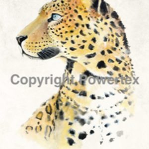 "A4 Art Animal Print ""Leopard"" to use for photo transfers or collage, Powertex Australia"