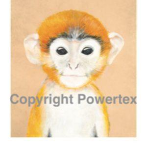 "A4 Art Animal Print ""Monkey"" to use for photo transfers or collage, Powertex Australia"