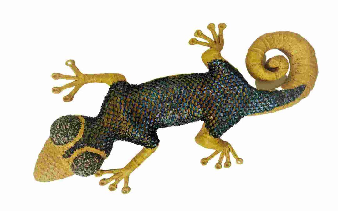Steampunk Gecko