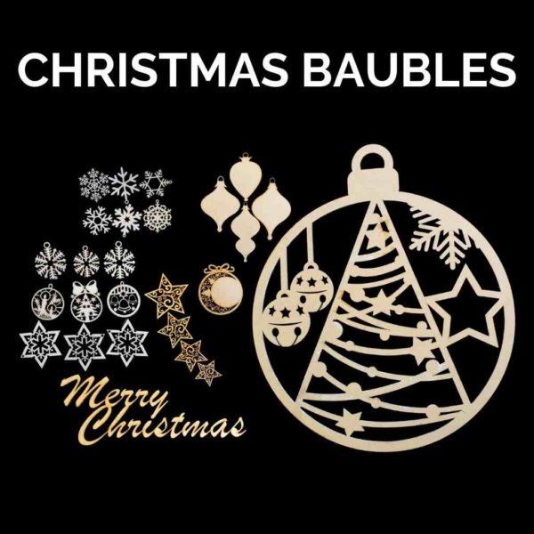 Christmas Baubles Cobwebbs Craft Studio Kit - Powertex Australia
