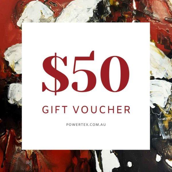 Powertex Australia $50 Gift Voucher