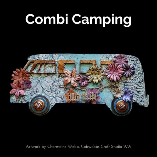 Powertex Australia DIY Kit Combi Camping. Artwork by Charmaine Webb