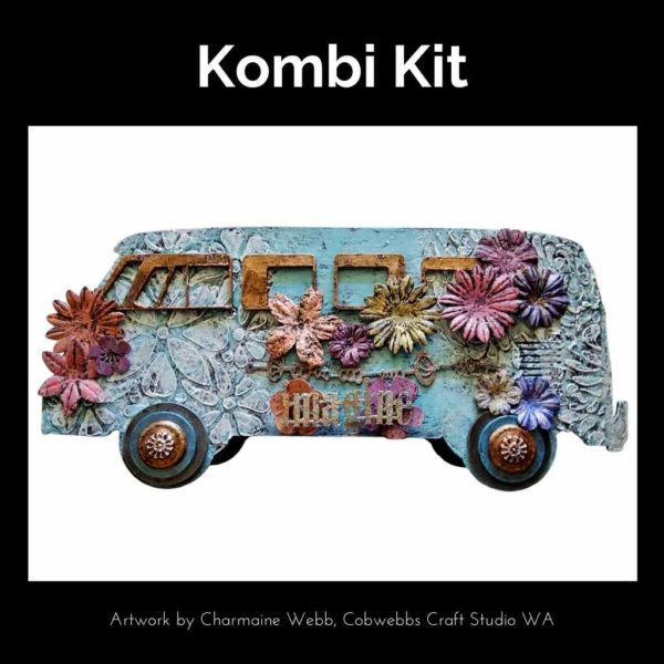 Make a Kombi using this fabulous kit form Powertex Australia