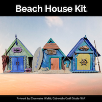 Make this delightful Trio of Beach House for your home today - Powertex Australia