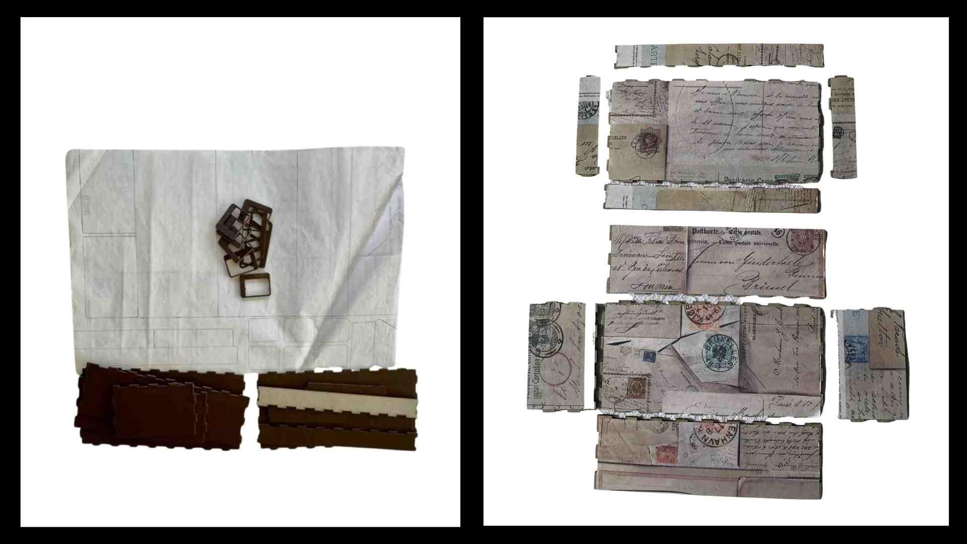 Step 2 Kombi Memory Box  by Erika Venter - Powertex Australia Design Team