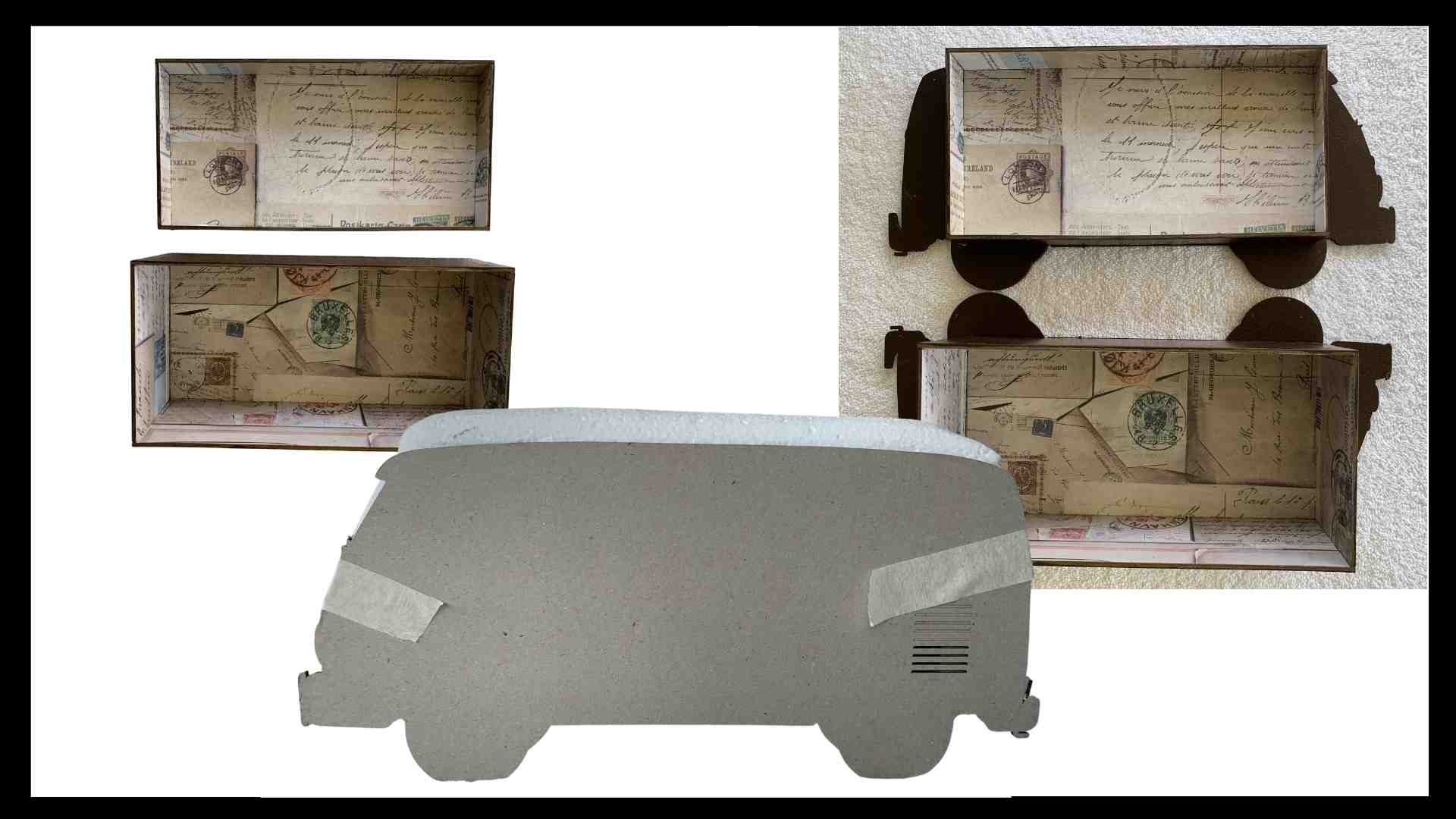 Step 3 Kombi Memory Box by Erika Venter - Powertex Australia Design Team