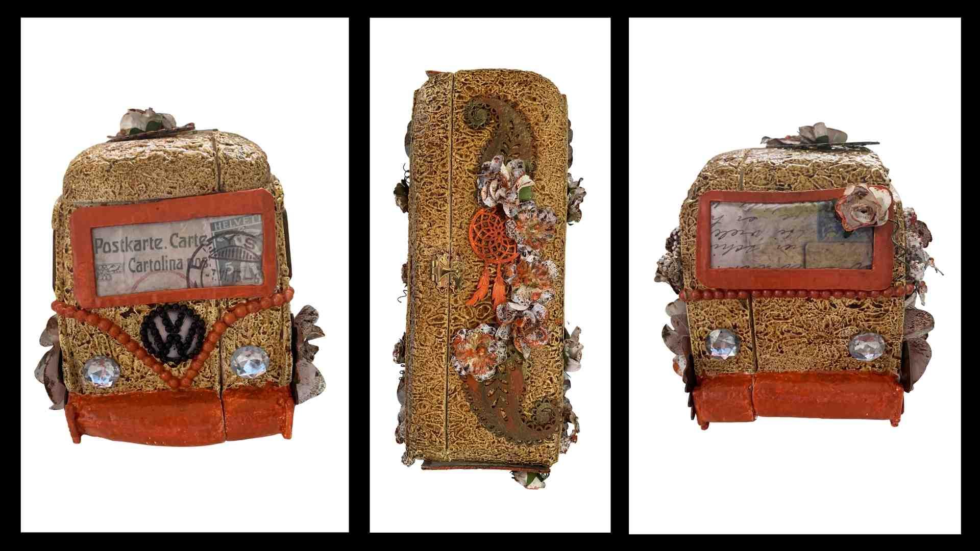 Step 9B Kombi Memory Box by Erika Venter - Powertex Australia Design Team