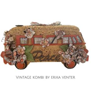 Vintage Kombi by Erika Venter - Powertex Australia Design Team