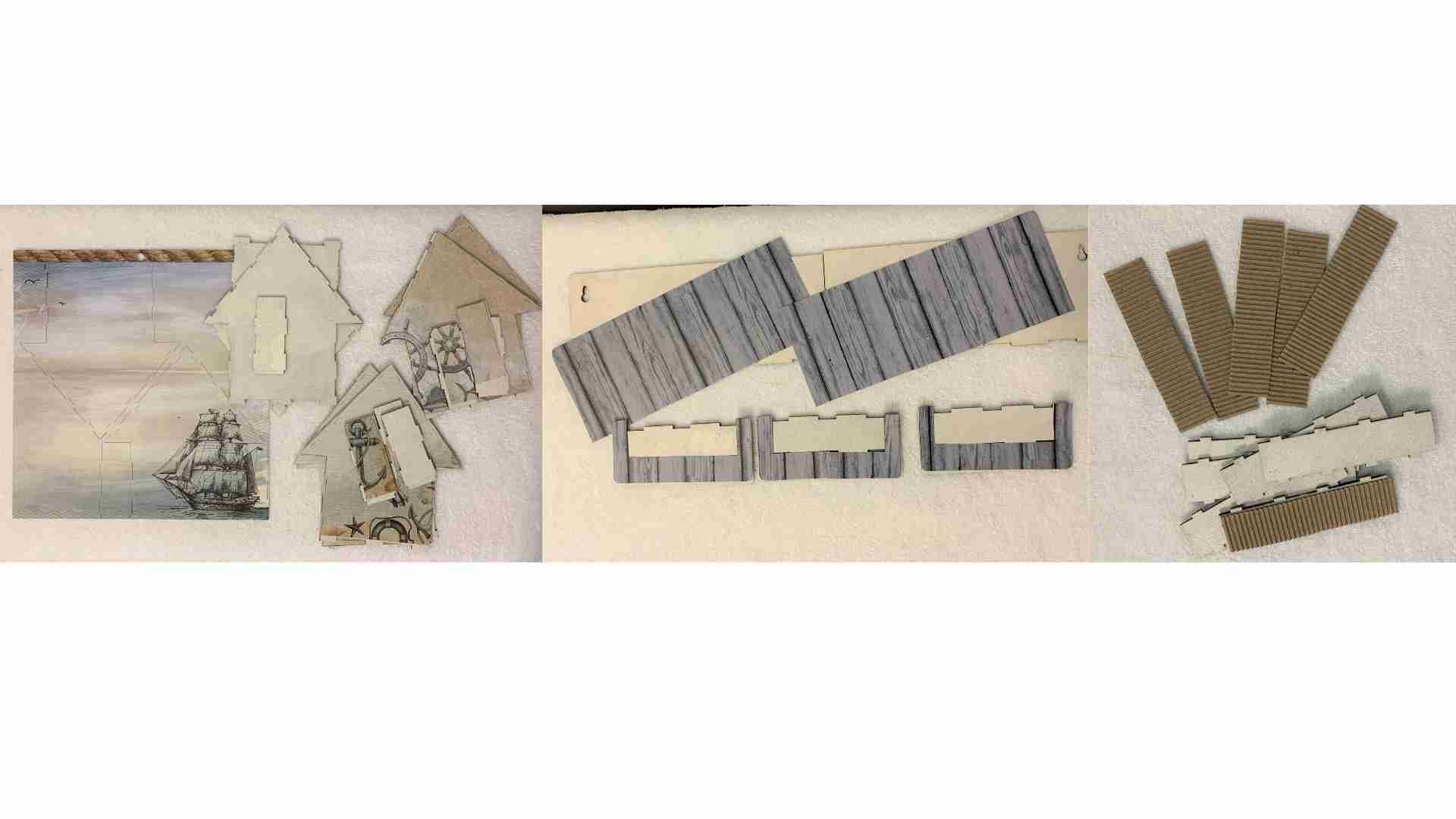 Beach Houses by Erika Venter QLD. Available from Powertex Australia- Step 2